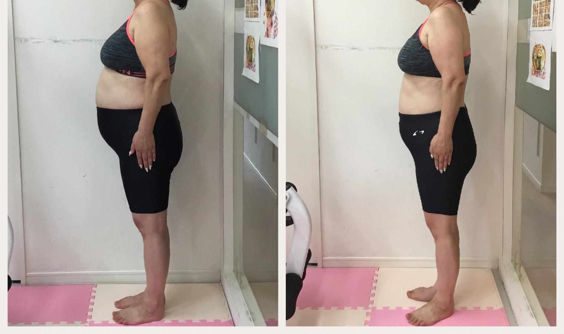 60代のダイエット、健康診断に向けて、サイズダウンもできました。