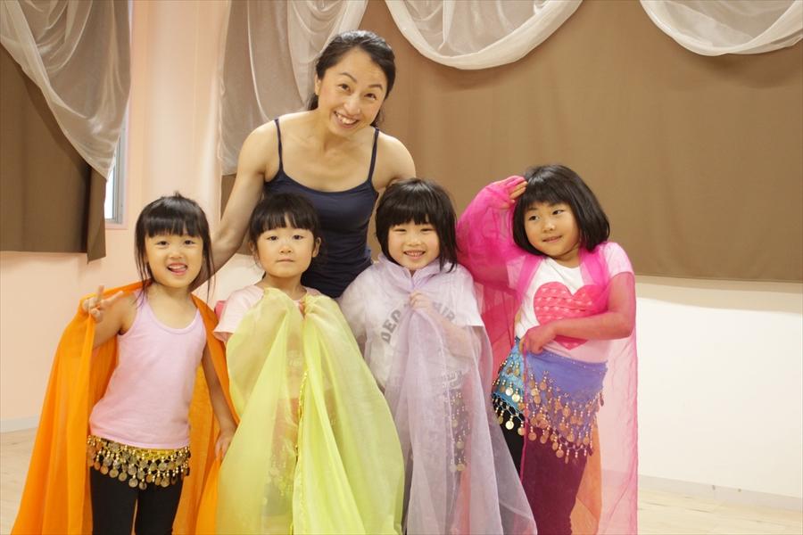 仙台キッズの習い事、ダンス、ベリーダンス、夏休み、短期