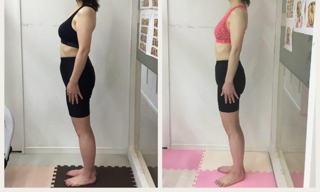 太ももとウエストのサイズダウン、トレーニングでダイエット