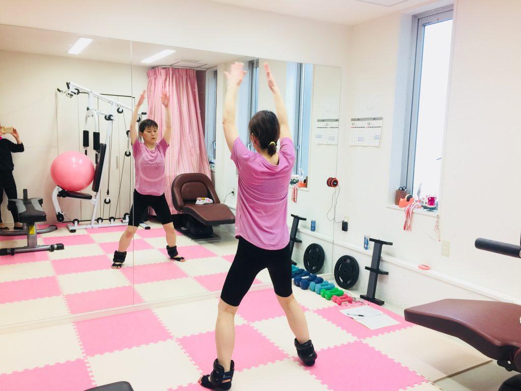女性専用 パーソナルトレーニングで太もものサイズダウン