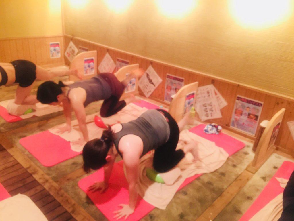 仙台で女性専用岩盤浴 ホットヨガ トレーニング