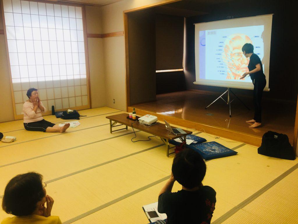 仙台で健康・美容のための出張セミナー、体操教室を開催