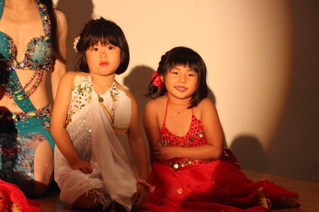 仙台 キッズのベリーダンスはシャンパレス