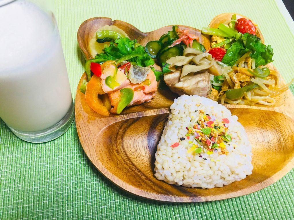 仙台の女性専用パーソナルトレーニングジム、インストラクターがつくるダイエットのためのヘルシー朝ご飯