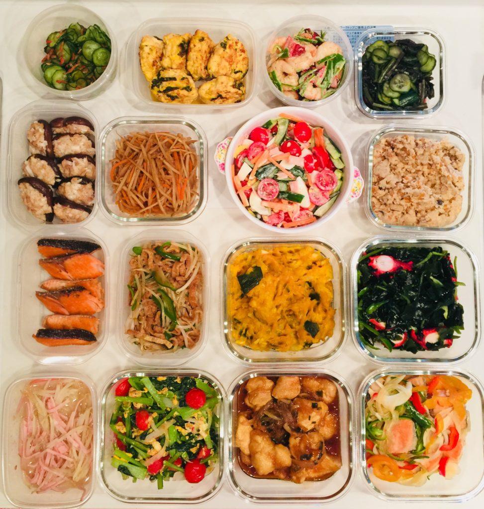 仙台のパーソナルインストラクターがつくるダイエットのための弁当&朝ご飯の作り置きおかず