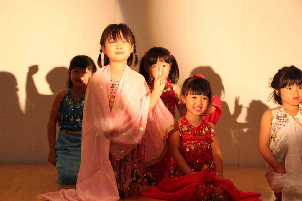仙台 キッズの習い事 ベリーダンスはシャンパレス
