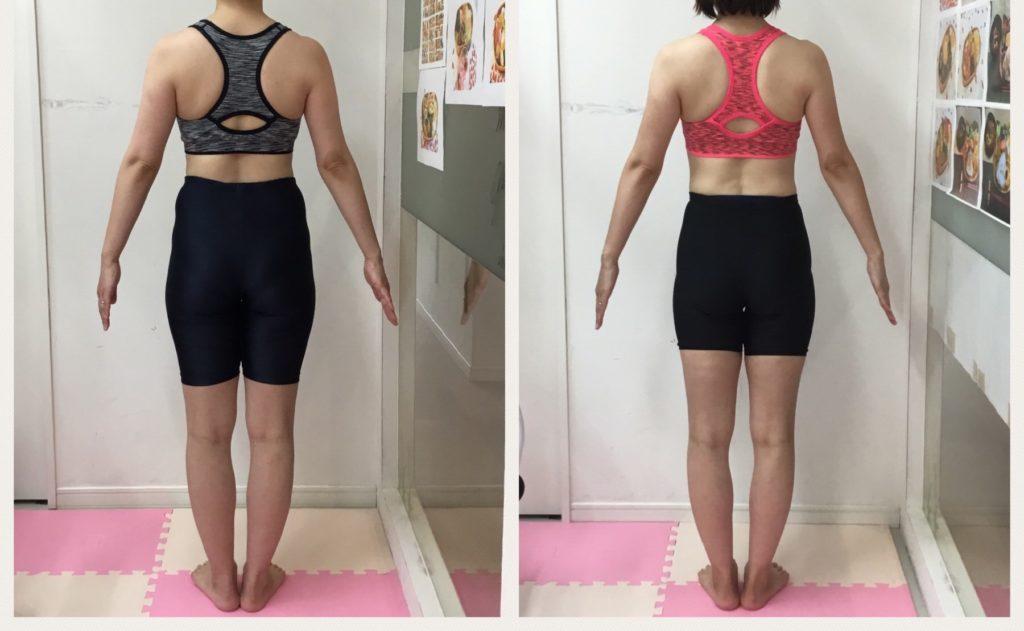 産後ダイエットの成功ビフォーアフター。仙台の女性専用パーソナルトレーニングジム