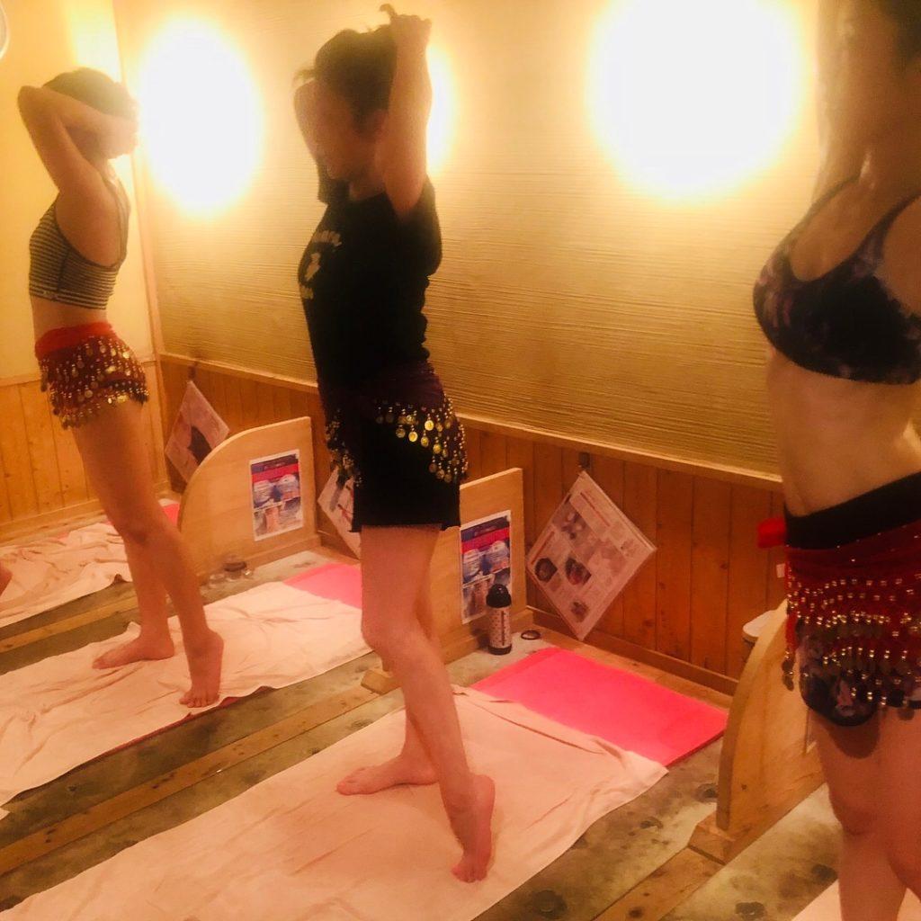 仙台の女性専用岩盤浴 駅近 バリーダンス