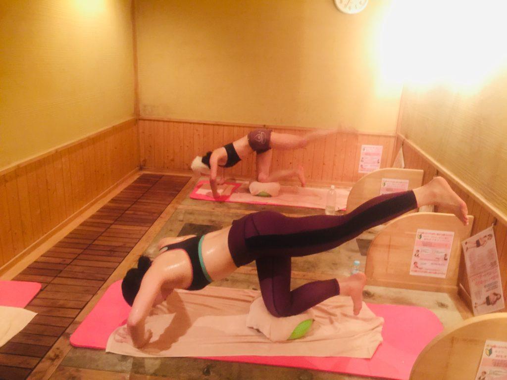 産後ダイエットに効果的 岩盤浴トレーニング