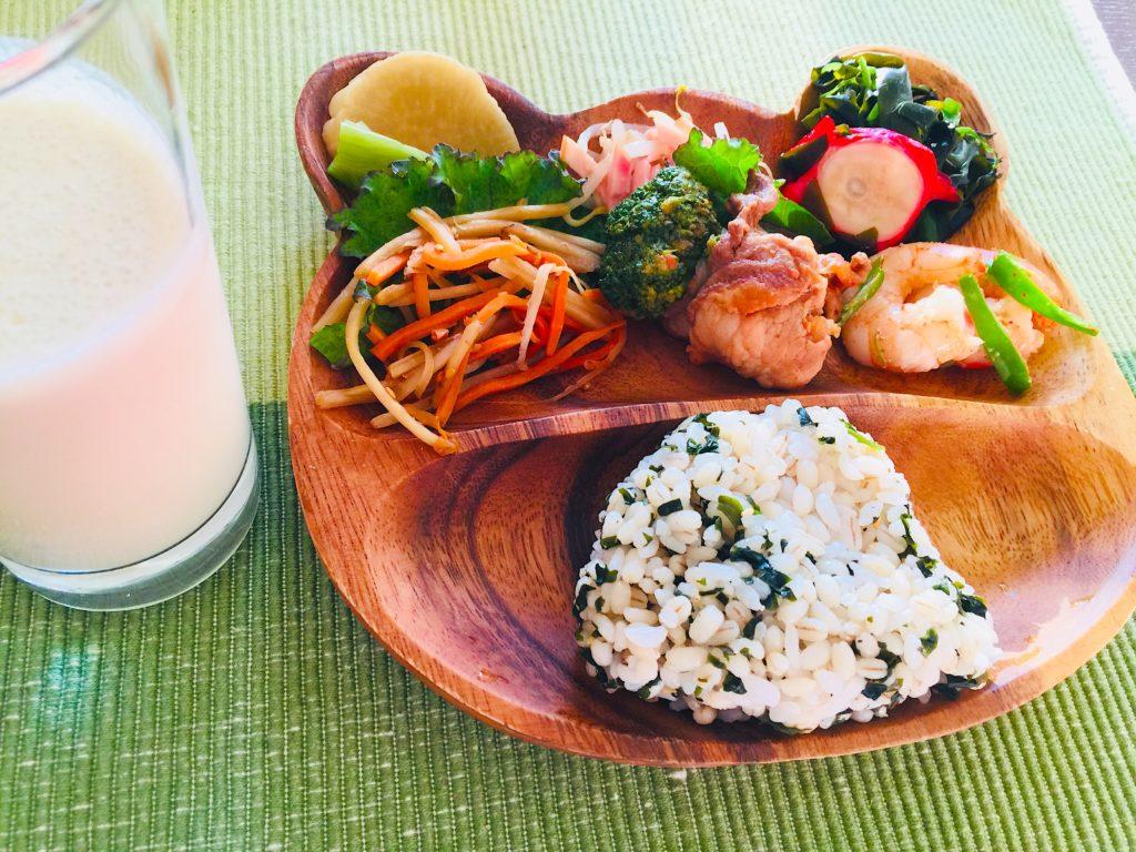 仙台のダイエットインストラクターが毎日つくる健康のためのヘルシー朝ご飯