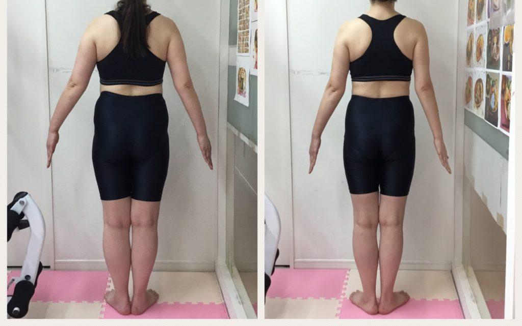 仙台の女性専用パーソナルトレーニングで背中のお肉解消ダイエット