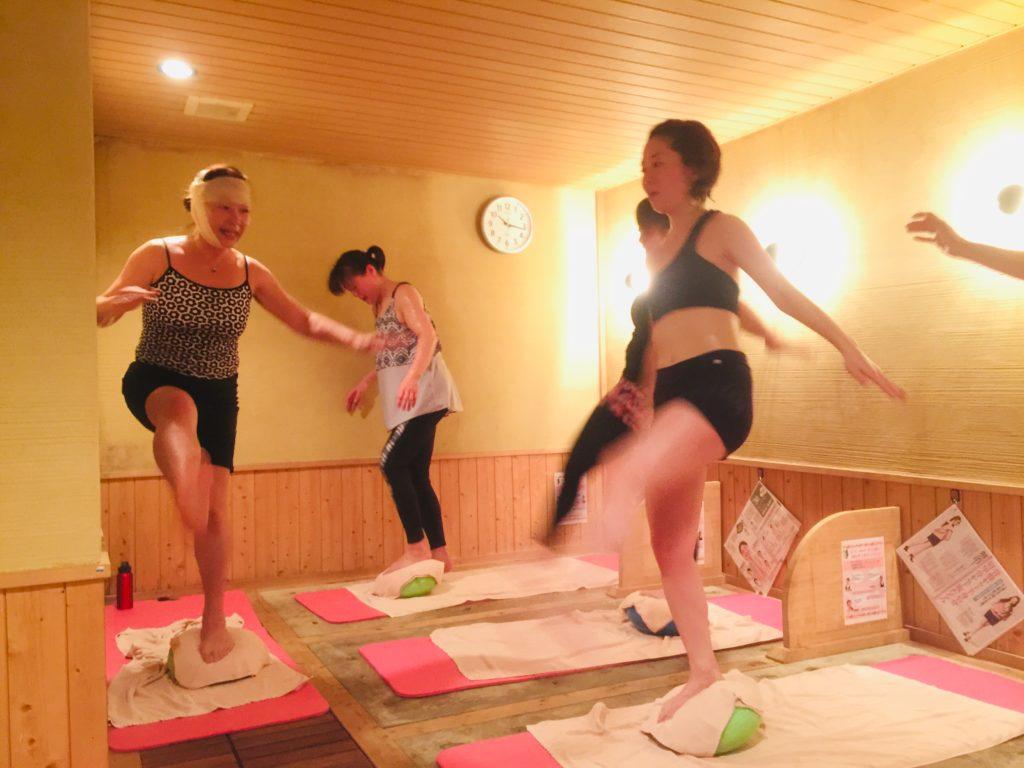 仙台女性専用岩盤浴トレーニングを公開