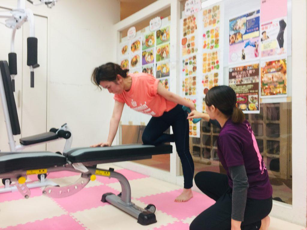 仙台の女性専用パーソナルトレーニングでダイエット挑戦